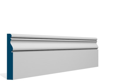 19 x 119mm Pre-Primed / Pre-Painted Wood Ardan Skirting (5×2.4m)