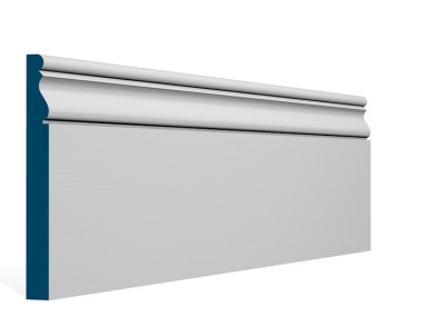 19 x 169mm Pre-Primed / Pre-Painted Wood Ardan Skirting (5×2.4m)
