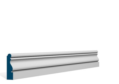 19 x 69mm Pre-Primed / Pre-Painted Wood Ardan Architrave or Skirting (5×2.25m)