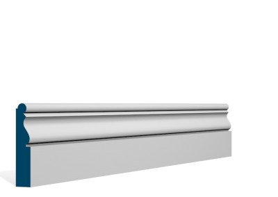 19 x 94mm Pre-Primed / Pre-Painted Wood Ardan Architrave or Skirting (5×2.25m)