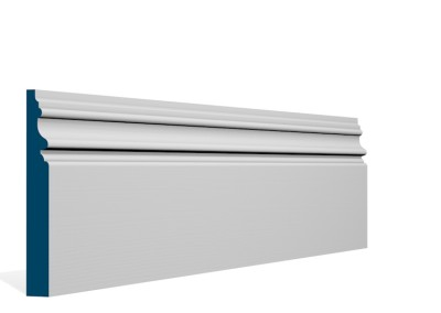 19 x 144mm Pre-Primed / Pre-Painted Wood Brackley Skirting (5×2.4m)