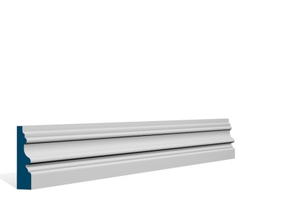 19 x 69mm Pre-Primed / Pre-Painted Wood Brackley Architrave or Skirting (5×2.25m)
