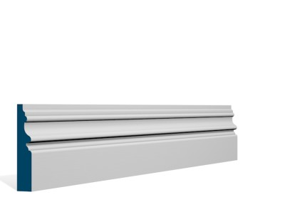 19 x 94mm Pre-Primed / Pre-Painted Wood Brackley Architrave or Skirting (5×2.25m)