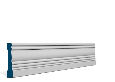19 x 89mm Pre-Primed / Pre-Painted Wood Braden Architrave (5×2.25m)