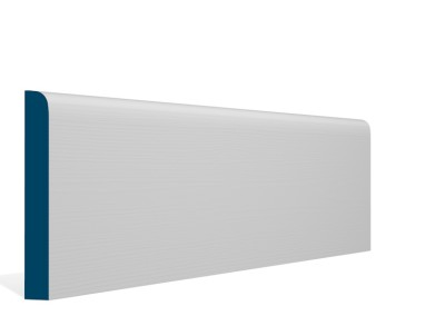 19 x 144mm Pre-Primed / Pre-Painted Wood Bullnose Skirting (5×2.4m)