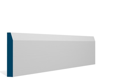 19 x 119mm Pre-Primed / Pre-Painted Wood Chamfered Skirting (5×2.4m)