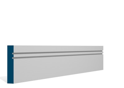 19 x 94mm Pre-Primed / Pre-Painted Wood Double Shaker Architrave or Skirting (5×2.25m)