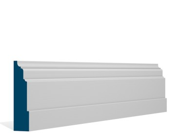 30 x 119mm Pre-Primed / Pre-Painted Wood Dromoland Architrave/Skirting (5×2.4m)