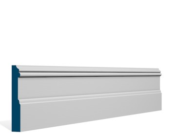 19 x 119mm Pre-Primed / Pre-Painted Wood Glaslough Skirting (5×2.4m)
