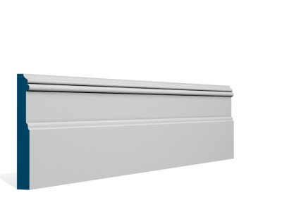 19 x 144mm Pre-Primed / Pre-Painted Wood Glaslough Skirting (5×2.4m)