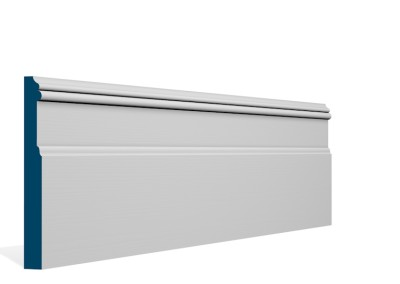 19 x 169mm Pre-Primed / Pre-Painted Wood Glaslough Skirting (5×2.4m)