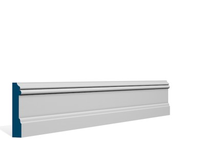 19 x 94mm Pre-Primed / Pre-Painted Wood Glaslough Architrave or Skirting (5×2.25m)