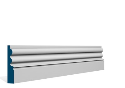 19 x 94mm Pre-Primed / Pre-Painted Wood Kilcooley Architrave or Skirting (5×2.25m)