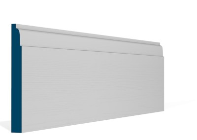 19 x 169mm Pre-Primed / Pre-Painted Wood Lambs Tongue Skirting (5×2.4m)