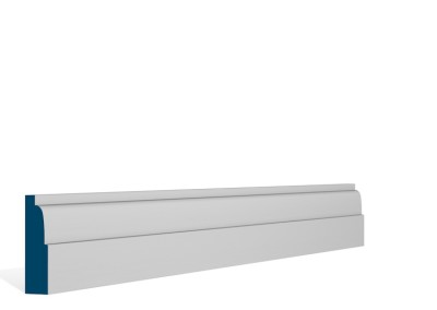 19 x 69mm Pre-Primed / Pre-Painted Wood Lambs Tongue Architrave or Skirting (5×2.25m)