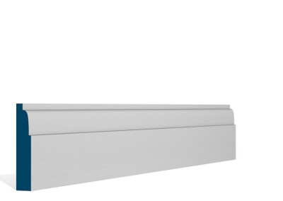19 x 94mm Pre-Primed / Pre-Painted Wood Lambs Tongue Architrave or Skirting (5×2.25m)