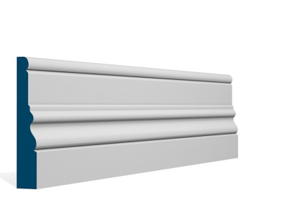 25 x 144mm Pre-Primed/Pre-Painted Wood Laurel Skirting (5×2.4m)