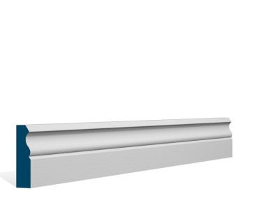 19 x 69mm Pre-Primed / Pre-Painted Wood Ogee Architrave or Skirting (5×2.25m)
