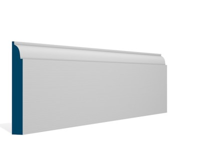 19 x 144mm Pre-Primed / Pre-Painted Wood Ovolo Skirting (5×2.4m)
