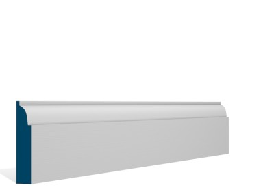 19 x 94mm Pre-Primed / Pre-Painted Wood Ovolo Architrave or Skirting (5×2.25m)