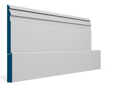 25 x 344mm Pre-Primed / Pre-Painted Wood Owel Skirting (5×2.4m)