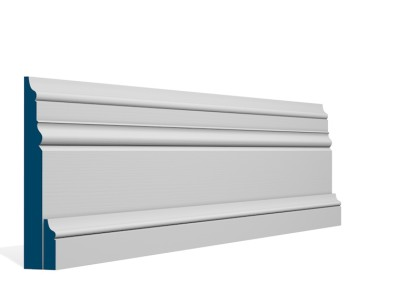 31 x 169mm Pre-Primed / Pre-Painted Wood Pallas Skirting (4×2.4m)