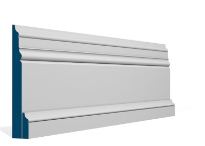 31 x 194mm Pre-Primed / Pre-Painted Wood Pallas Skirting (4×2.4m)