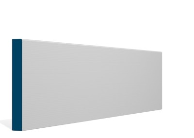 19 x 144mm Pre-Primed / Pre-Painted Wood Pencil Edge Skirting (5×2.4m)