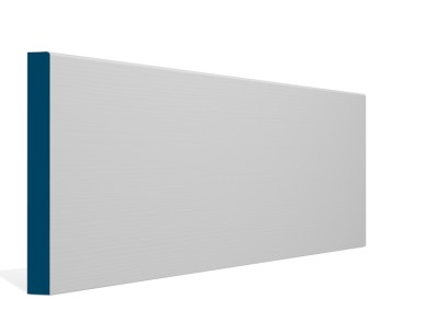 19 x 169mm Pre-Primed / Pre-Painted Wood Pencil Edge Skirting (5×2.4m)