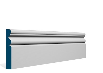 19 x 119mm Pre-Primed / Pre-Painted Wood Portmore Skirting (5×2.4m)