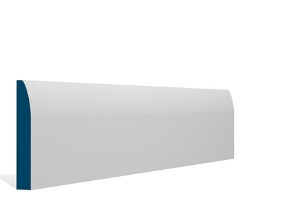 19 x 119mm Pre-Primed / Pre-Painted Wood Rounded Skirting (5×2.4m)