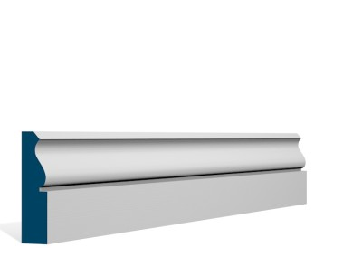 25 x 94mm Pre-Primed/Pre-Painted Wood Rushen Architrave or Skirting (5×2.25m)