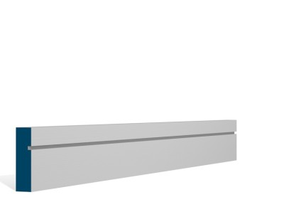 19 x 69mm Pre-Primed / Pre-Painted Wood Shaker Architrave or Skirting (5×2.25m)