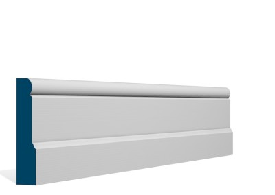 25 x 119mm Pre-Primed / Pre-Painted Wood Shannagh Skirting (5×2.4m)