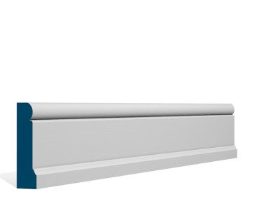 25 x 94mm Pre-Primed/Pre-Painted Wood Shannagh Architrave or Skirting (5×2.25m)