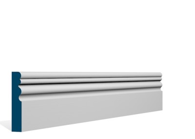 19 x 94mm Pre-Primed / Pre-Painted Wood Sheelin Architrave or Skirting (5×2.25m)