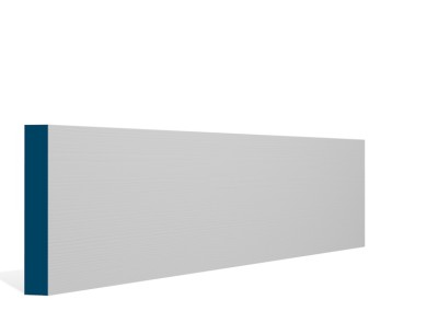 19 x 119mm Pre-Primed / Pre-Painted Wood Square Edge Skirting (5×2.4m)