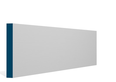 19 x 144mm Pre-Primed / Pre-Painted Wood Square Edge Skirting (5×2.4m)